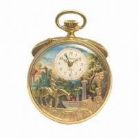 Wholesale Music Pocket Watch, Fashionable and Waterproof, Various Colors are Available from china suppliers