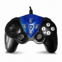 Wholesale PC USB Gamepad/Joypad/Controller with Comfortable Soft Rubber Grips and 2 Analog Sticks from china suppliers