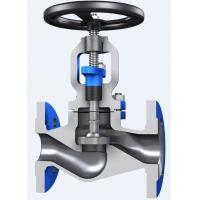 Wholesale Through Conduit Pattern Flanged Globe Valve Full Opening with ASTM A 216 Material from china suppliers