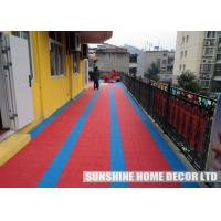 Wholesale School Playground Safety Surfacing Playground For Multi 250 x 250 x 12.7 mm from china suppliers