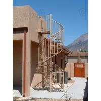 Wholesale high quality prefabricated spiral staircase / outdoor metal spiral stairs from china suppliers
