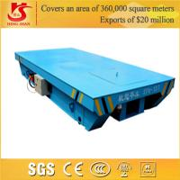 Wholesale Industrial Rail Mounted Flat Handling crane Rail Motor Car from china suppliers