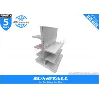 Wholesale Commercial Retail Store Display Shelves , Steel Grocery Store Display Racks Double Side from china suppliers