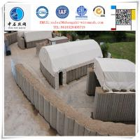 Quality Concertainer Hesco Bastion with Geotextile cloth inside for sale