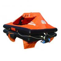 Buy cheap Marine Inflatable Life Raft, Throw-over/Davit-launch/Self-righting/Open Reversible Liferaf from wholesalers