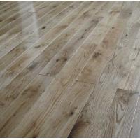Buy cheap rustic grade White Oak Solid Hardwood Flooring, CD grade and natural color from wholesalers
