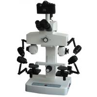 Wholesale Optical Performance Forensic Comparison Microscope with Wide Field Eyepiece WF10 × / 22, diopter adjustment BSC - 200 from china suppliers