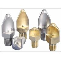 Wholesale High Pressure Fan Water Spray Nozzles For Fruits / Vegetables Washing from china suppliers