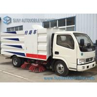 Buy cheap Donfeng 4 X 2 Vacuum Sweeper Truck 103kw 140hp 5M3 Road Sweeper from wholesalers