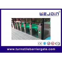 Wholesale Alarm High Speed Retractable Flap Barrier Auto Detection Flap Gate from china suppliers