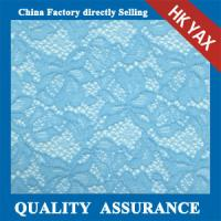 China high quality China supplier 100% Nylon lace fabric,white Nylon lace fabric on sale