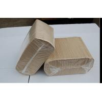 Wholesale N Fold / z Fold Kraft Tissue Paper Napkin , Virgin Wood Pulp hygienic paper from china suppliers