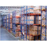 Wholesale Double Deep Industrial Pallet Racks , Warehouse Storage Steel Pallet Racking from china suppliers