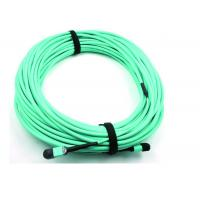 Wholesale MPO Fiber Optic Cable Patch Cord 50 / 125 OM3 12C for High Speed Data Center from china suppliers