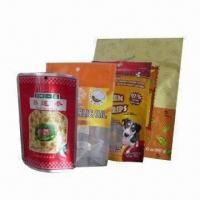 Wholesale Stand Up Pouches with Top Zipper, Special Used for Food Packing, Pet Food Packing/Medicine Packing from china suppliers