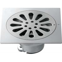 Wholesale Bathroom hardwares brushed sanitary ware Big SUS Self-Closed Floor Drain from china suppliers