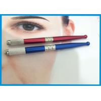 Quality 3D Eyebrow Tattooing Manual Cosmetic Tattoo Pen / Microblading Pen With Microblades for sale