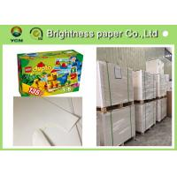 Wholesale One Side Coated White Cardboard Sheets For Packaging Boxes Eco Friendly from china suppliers