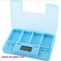 Wholesale Portable Digital Pill Tablet Medicine Box Alarm Best Selling New Design Compartments Box from china suppliers