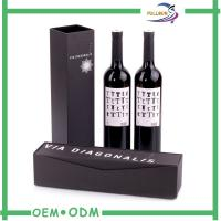 Wholesale Custom Fancy Printed Wine Gift Boxes , Single wine bottle gift box from china suppliers