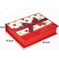 Wholesale Large Gift Printed Jewellery Boxes , Jewellery Gift Box For Necklace And Earrings from china suppliers