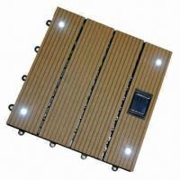 Wholesale 300x300mm WPC Decking Tiles, Waterproof or Moisture-proof, Suitable for Outdoor Use from china suppliers