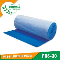 Wholesale EU3/G3 blue & white color air intake pre filter for spray booth from china suppliers