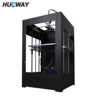 Wholesale Dual Extruder Double Heads Reprap 3D Printer Prusa High Resolution from china suppliers