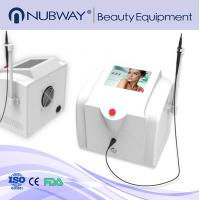 Buy cheap CE Approval 30MHZ High Frequency Non-invasive Portable varicose veins laser treatment machine spider vein removal machin from wholesalers