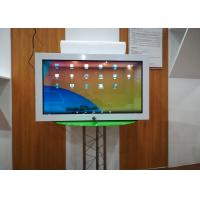 Buy cheap 27 Inch Transparent Lcd Display Commodity Displaying Cabinet Case One Sided from wholesalers