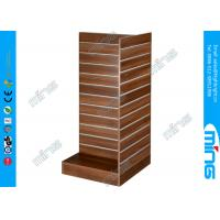 Wholesale 3 Sides MDF Gondola Slatwall Display Shelves T Shape Clothing Display Stand from china suppliers