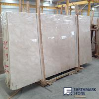 Quality Anna Beige Marble Slab for sale