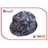 Wholesale Waterproof Ladies Trilby Hats Multi Color With Common Style Floral Hatband from china suppliers