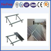 Wholesale Single cloumn Steel solar panel mounting bracket, Solar panel roof mount kit from china suppliers