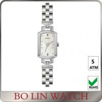 Wholesale Milanese Mesh Women'S Square Face Silver Watches , Citizen Ladies Watches Steel Strap from china suppliers