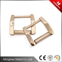 Wholesale Spanish square metal bag buckle,16.92*20.55mm zinc alloy backpack buckle from china suppliers