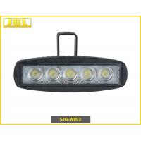 Wholesale Shockproof Epistar Led Work Light For Cars , Jeep 15w Driving Led Lights With 1300lm Ip67 from china suppliers