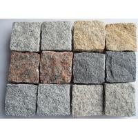 Quality Various Colors Granite Cubestones for Paving for sale