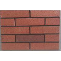 Wholesale Red Decorative Brick Veneer , Eco Friendly Exterior Wall Brick Tiles from china suppliers