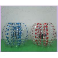 Wholesale 0.8mm PVC Inflatable Sports Games 1.2m 1.5m 1.8m Air Bumper Ball Body Zorb Ball from china suppliers