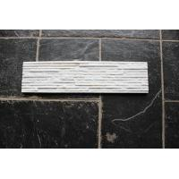 Buy cheap Cultue Stone /Quartz Culture Stone /White  Culture Stone 600x150 from wholesalers
