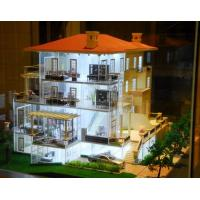 Wholesale Nice Acrylic Scale Model Scenery For  Lighting Villa Building Layout from china suppliers