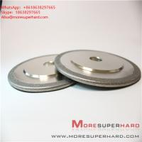 Wholesale Electroplated Diamond/ CBN Grinding Wheels for Profile Forming or Surface Grinding of Marble  Alisa@moresuperhard.com from china suppliers