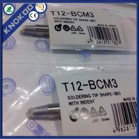 Wholesale Hakko T12-BCM3 soldering iron tips for Hakko FX950/951/952 soldering station, FM2027/2028/FX-9501 soldering iron from china suppliers