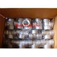 NPT ASTM A105 Forged Pipe Fittings Stainless Steel Withstand High Pressure for sale
