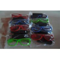 Wholesale Colorfull Half Frame El Glowing Wire Light Up Sunglasses Powered By 2*AA Battery from china suppliers