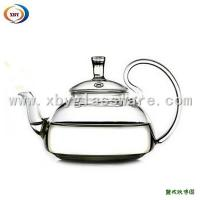 Wholesale 450ml borosilicate glass teapots from china suppliers