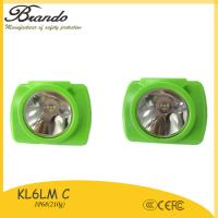 Buy cheap BRANDO high quality miners construction cordless cap lamp with CE from wholesalers