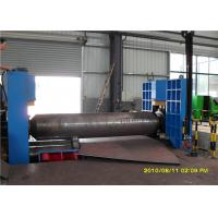 Wholesale Upper Roller Multifunctional Metal Sheet Rolling Machine 3 Roller 4 m / min from china suppliers