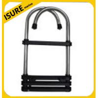 Wholesale 4 STEP STAINLESS STEEL GUNWALE HOOK LADDER from china suppliers